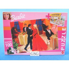 Barbie 100 st nr. 53590