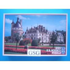 Chateu de Chenonceaux France 1000 st nr. 98184.9