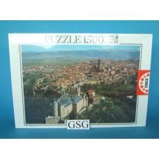 El Alcazar de Segovia Spain 1500 st nr. 7.708-01