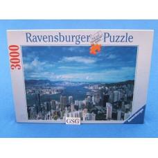 Skyline van Hongkong 3000 st nr. 17 016 6
