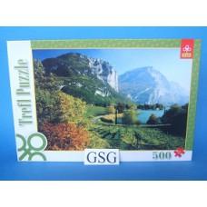 Lake Toblino Trentino Italy 500 st nr. 37068