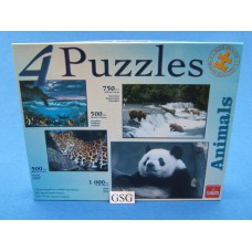 Animals 4 puzzels nr. 71 102 521