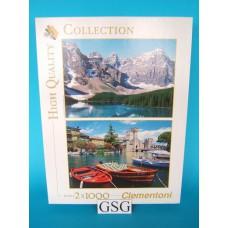 Canada & Garda Italy 2x 1000 st nr. 90858