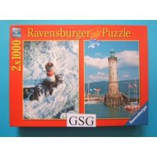 Lighthouses 2x 1000 st nr. 16 797 5-12