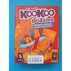 Kookoo puzzel dansen 24 st nr. 999-KOO 00-02