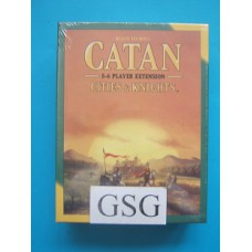 Catan Cities & Knights. 5-6 player extension nr. MFG3078-00