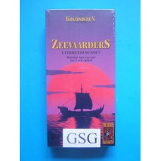De kolonisten van Catan zeevaarders uitbreidingsset nr. 999-KOL04a-10