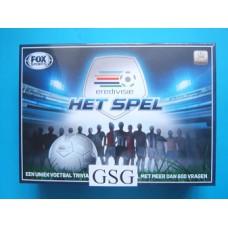 Het Eredivisie voetbalspel nr. 07155-00