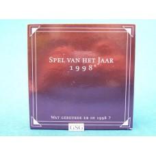 Spel van het jaar 1998 nr. 60180-01