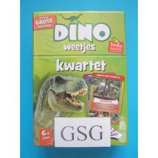 Dino weetjes kwartet nr. 02258-00