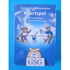 Olympische winterspelen kaartspel nr. Q/18166-01