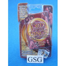 The lord of the rings the two towers playing cards nr. 01124-01