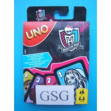 Uno Monster High nr. CJM75-00