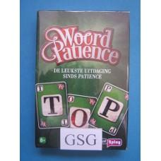 Woord patience nr. 10000-01
