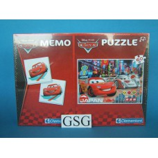 Cars memo en puzzel 60 st nr. 07902-00