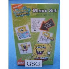 Spongebob squarepants memo set nr. di0635-01
