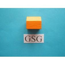 Dorp oranje (hout) nr. 60274
