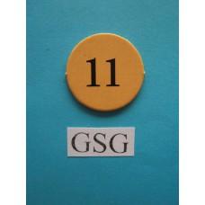 Getalfiche 11 (i) nr. 60321