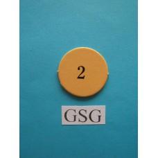 Getalfiche 2 (B) nr. 60306