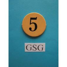 Getalfiche 5 (O) nr. 60312