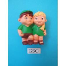 Hans & Grietje speelfiguur groen nr. 61023-02