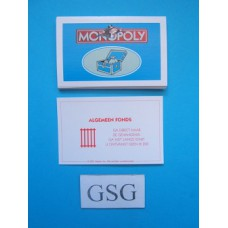 Algemene fondskaarten nr. 60797-01
