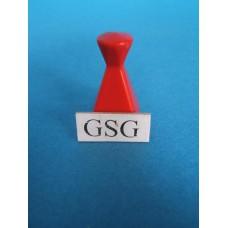 Afdekpion rood nr. 60352-02