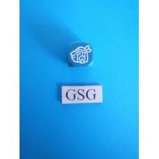 Dobbelsteen Perudo blauw nr. 60516-02