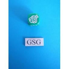 Dobbelsteen Perudo groen nr. 60519-02