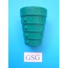 Dobbelbeker Perudo groen nr. 60882-02