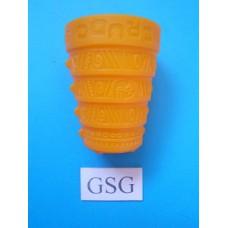 Dobbelbeker Perudo oranje nr. 60881-02