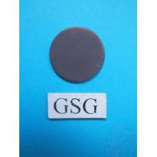 Neutraal schijfje donker grijs nr. 60756-02
