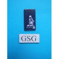 Kaartje generaal blauw nr. 60910-02