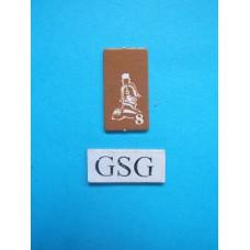 Kaartje generaal geel nr. 60919-02
