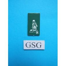 Kaartje generaal groen nr. 60928-02