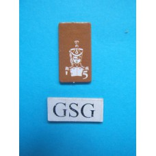 Kaartje luitenant geel nr. 60922-02