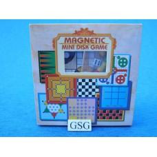 Magnetic mini disk Ludo game nr. 0505033-01