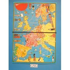 Euro Route spelbord nr. 480-202